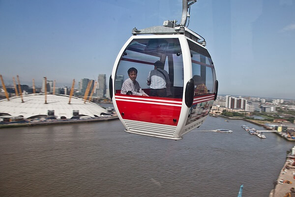 TfL looking for new sponsor for London's only cable car Emirates Air Line