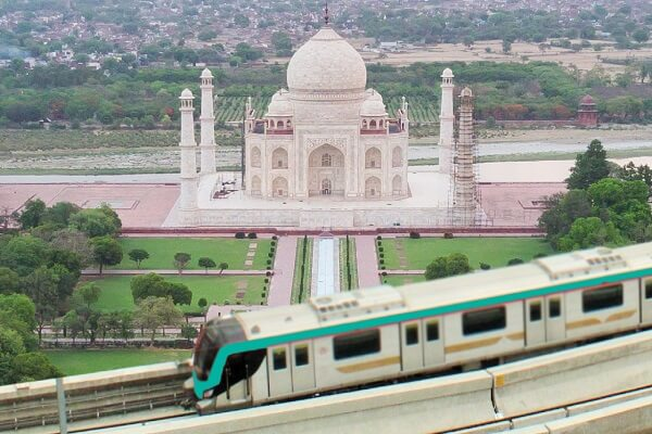 Construction activities for Agra Metro Rail project commenced