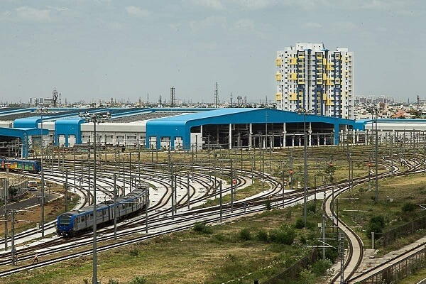Tender invited for construction of Madhavaram Depot of Chennai Metro Phase 2