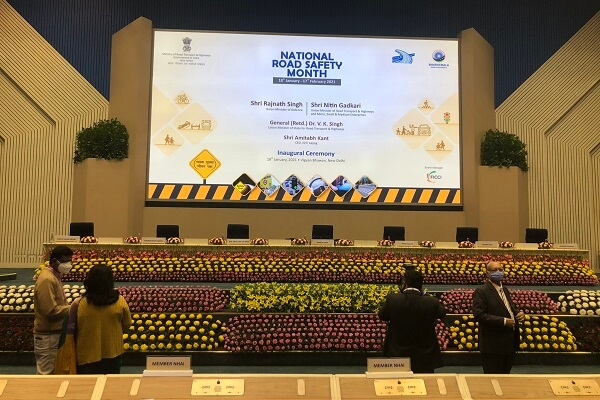 Govt of India launches first-ever National Road Safety Month in New Delhi