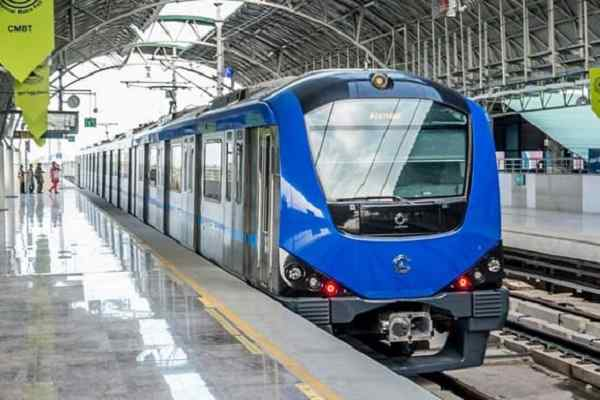Tender issued for electrification work of Chennai Metro Phase 2