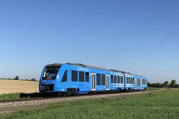 Alstom launches hydrogen train for the first time in Sweden