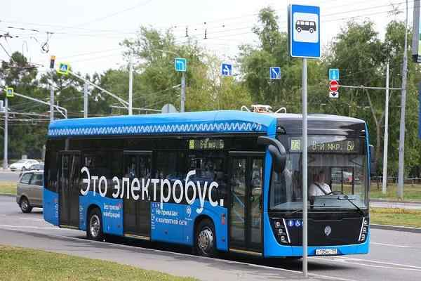 Moscow e-Bus routes reduce volume of emissions polluting air by 400 tons in 2020