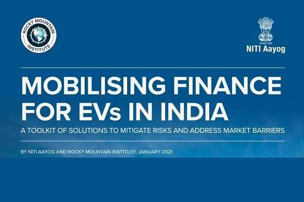 India's EV Financing Industry projected to be worth US$ 50 billion in 2030