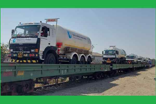 Oxygen Express: India's national transporter becomes life-saver of covid patients