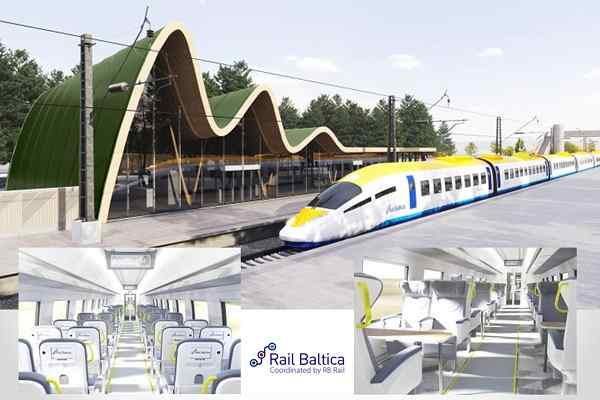 RB Rail unveils first virtual concept of Rail Baltica high speed train and depot