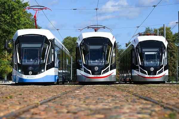 Moscow Transport receives 40 Rolling Stock Cars at Krasnopresnenskoe depot