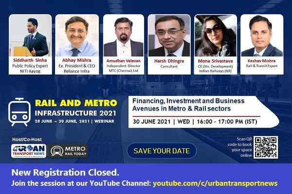Panel Discussion: Financing, Investment and Business Avenues in the Metro & Rail sectors