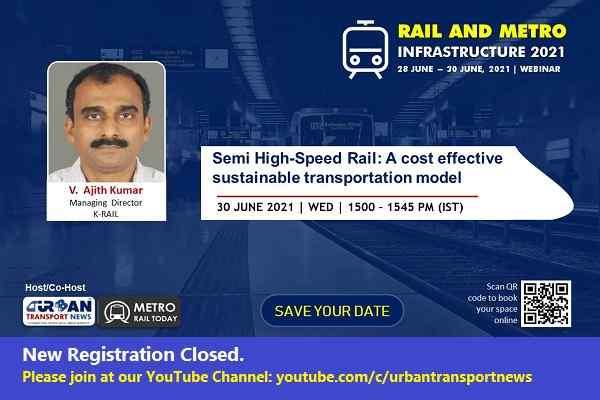 Webinar | Semi High-Speed Rail: A cost-effective sustainable transportation model