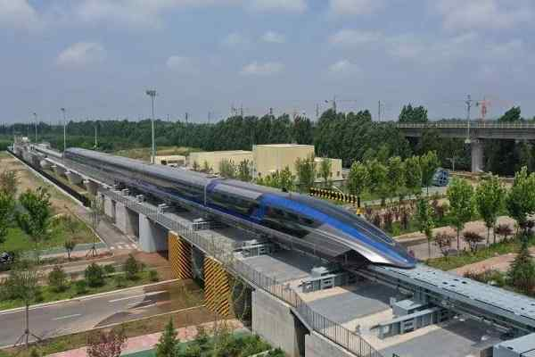 China launched World's first 600kmph high-speed maglev train in Qingdao