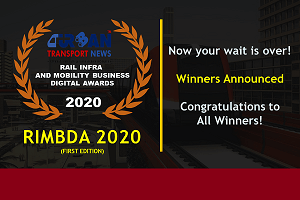Winners of Rail Infra and Mobility Business Digital Awards 2020 announced